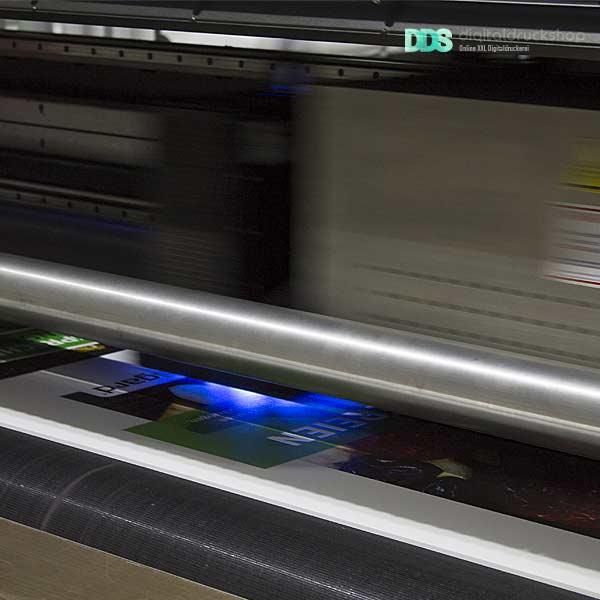 UV Direktdruck Bautafel
