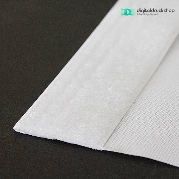 Flauschband Klettband für Stoffbanner